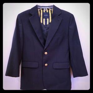 Boy's Nautica Blue Blazer